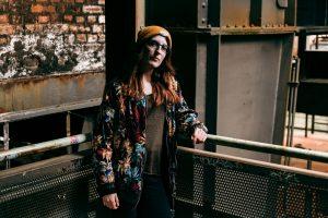 Fotoshooting Portrait mit Carina Mischke im Landschaftspark Duisburg